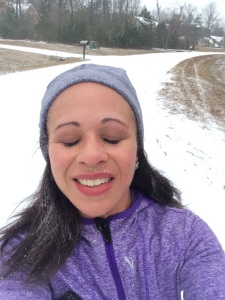 Winter: Cold Snowflakes on My Face. Loving Every Moment.