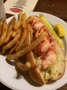 Iconic Maine Lobster Roll! Porthole Restaurant! You can Never Eat too Many Lobstah Rolls!